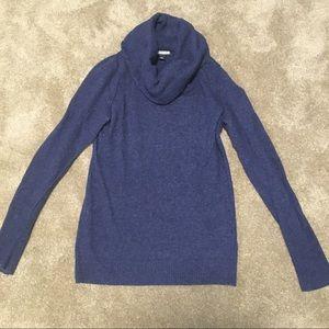 Banana Republic cowl neck merino sweater